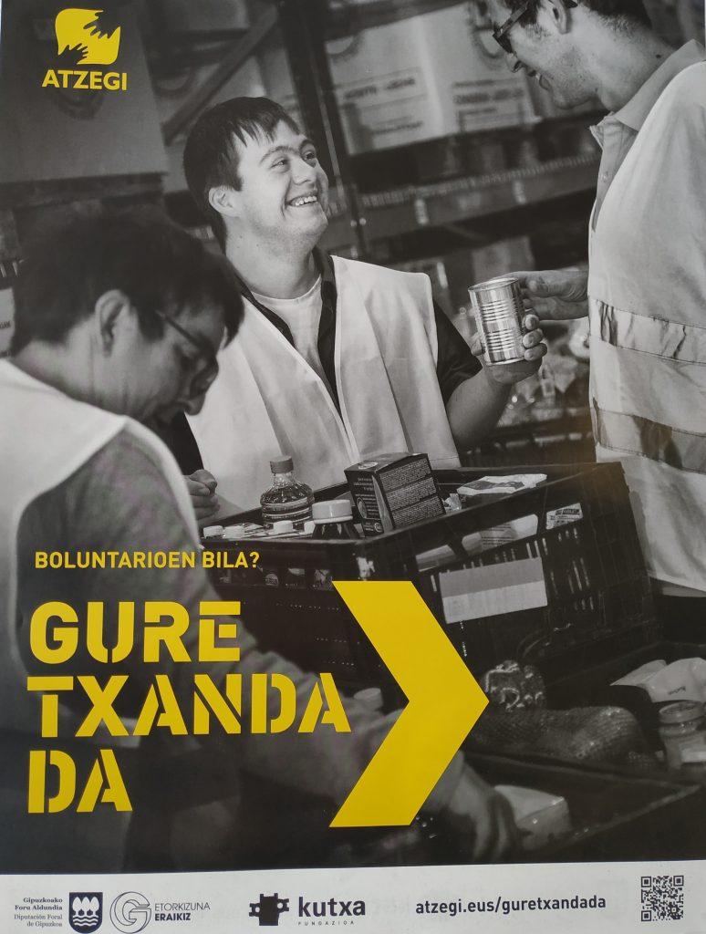 """Colaboración con Atzegi en la campaña """"Gure txanda da"""""""