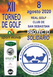 Torneo solidario de golf
