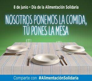 8 junio Día de la Alimentación Solidaria (DAS)
