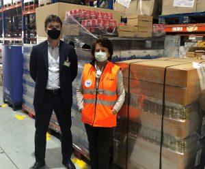 Mercadona dona 7.000 kilos de productos al Banco de Alimentos de Gipuzkoa
