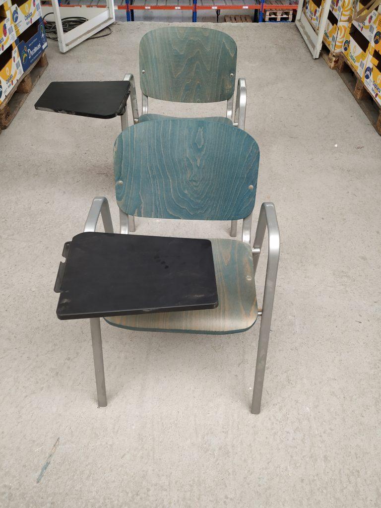 Donación de sillas de Gipuzkoasolidarioa